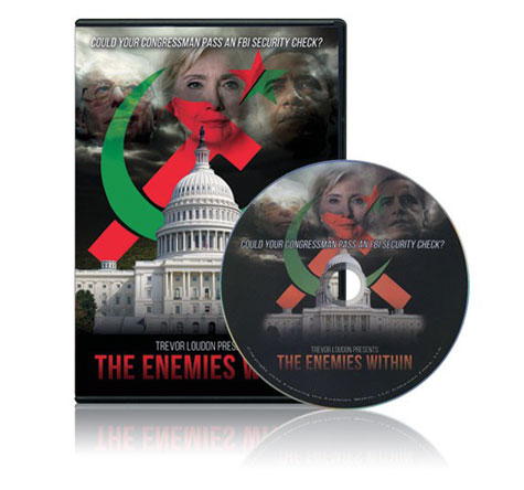 Trevor Loudon's 'THE ENEMIES WITHIN MOVIE' DVD