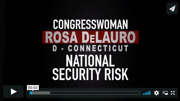 Rosa DeLauro-EnemiesWithin Mini-Docs by Trevor Loudon, www.enemieswithinmovie.com