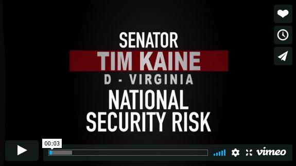Tim Kaine, EnemiesWithin by Trevor Loudon, www.enemieswithinmovie.com