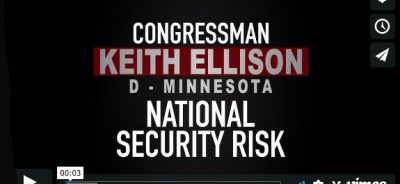 Keith Ellison, EnemiesWithin Video by Trevor Loudon