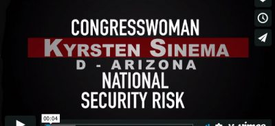 Kyrsten Sinema-Enemies Within by Trevor Loudon
