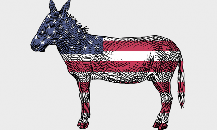 Democratic Party Donkey | www.enemieswithinmovie.com
