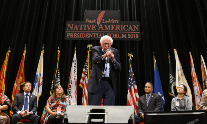 COMMUNIST LEADER MOBILIZES NATIVE AMERICANS FOR DEMOCRATIC VICTORY